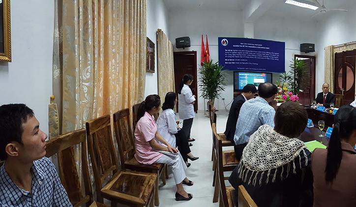 Viện Y học bản địa Việt Nam nghiệm thu đề tài An cung Việt Nam